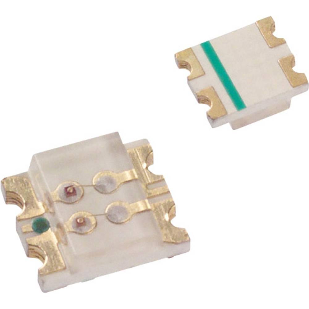 SMD LED LUMEX SML-LX1210IGC-TR 3225 10 mcd 160 ° Grøn, Rød