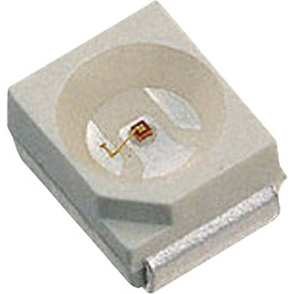SMD-LED (value.1317393) LUMEX SML-LX2832SRC-TR PLCC2 100 mcd 120 ° Rød