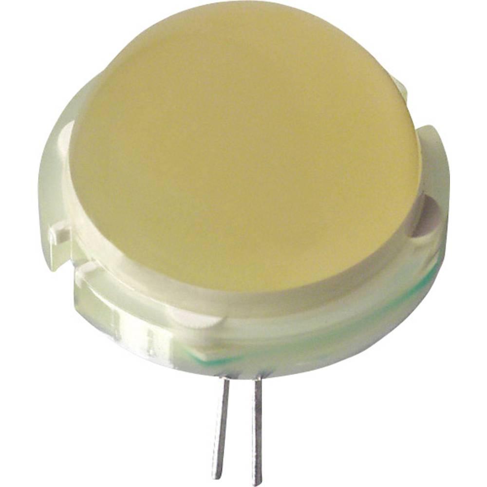 LED med ledninger LUMEX 20 mm 23 mcd 120 ° 30 mA 6.3 V Gul