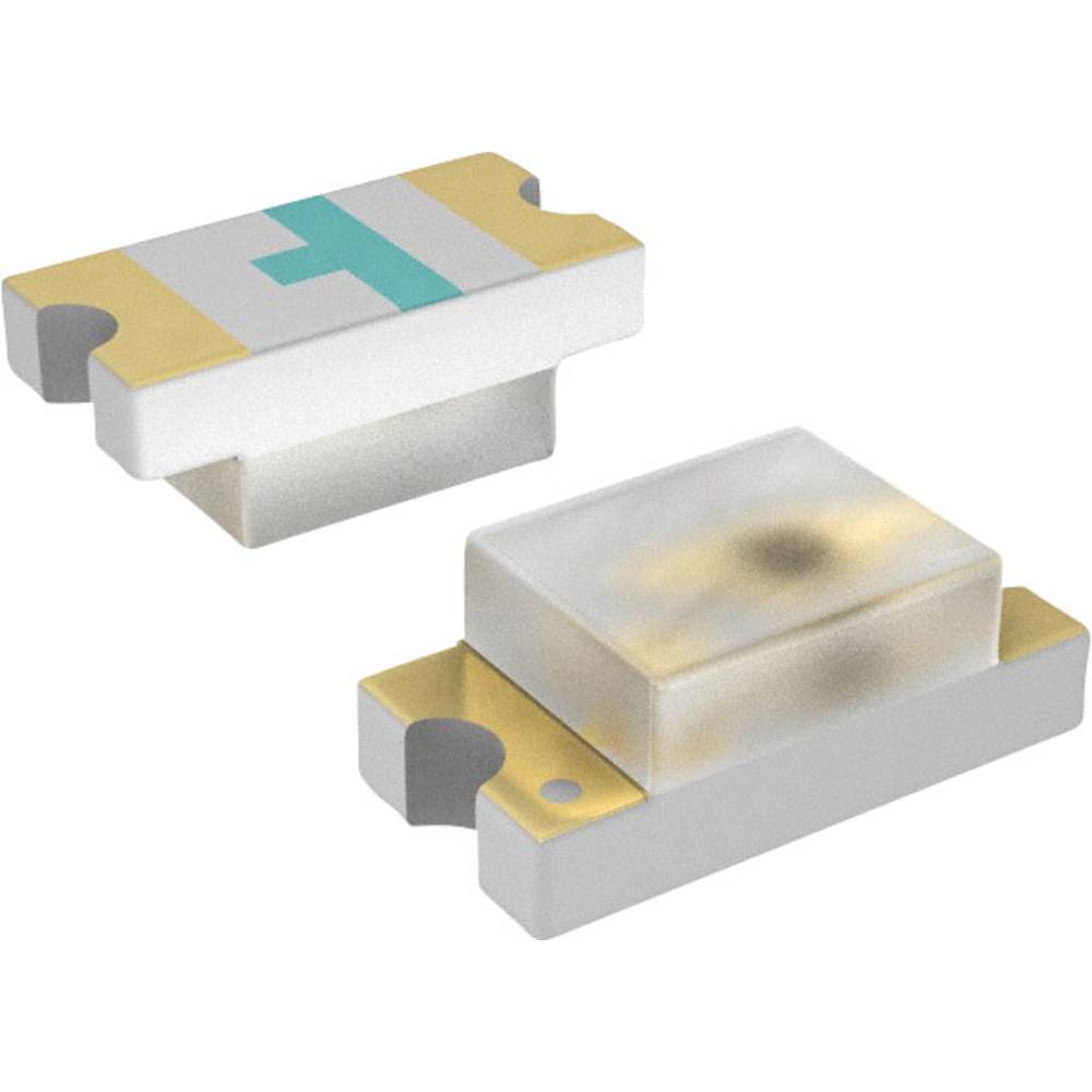 SMD-LED (value.1317393) LUMEX SML-LX0603GW-TR 1608 18 mcd 160 ° Grøn
