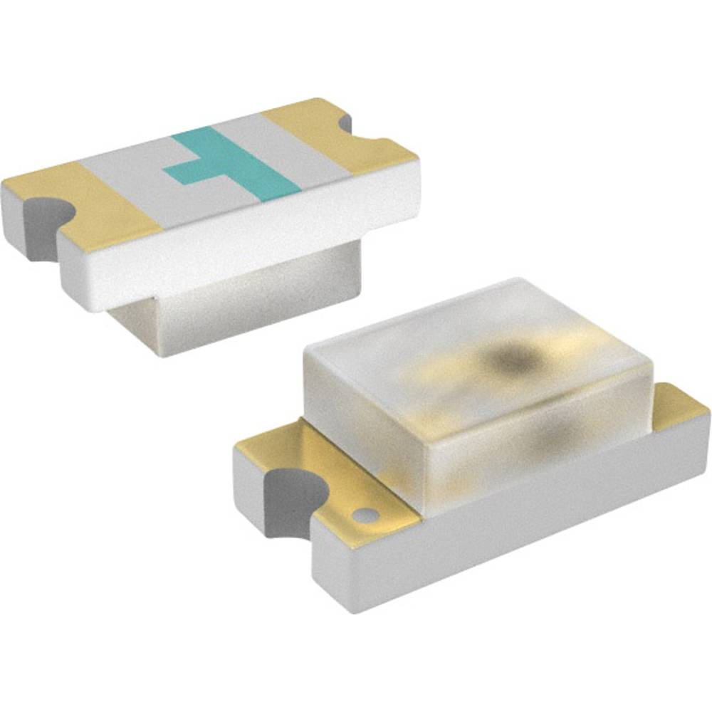 SMD-LED (value.1317393) LUMEX SML-LX0603YW-TR 1608 14 mcd 160 ° Gul