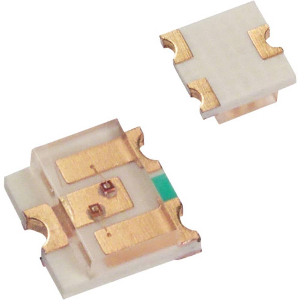 SMD-LED (value.1317393) LUMEX SML-LX15GC-RP-TR SOT-23-3 10 mcd 140 ° Grøn