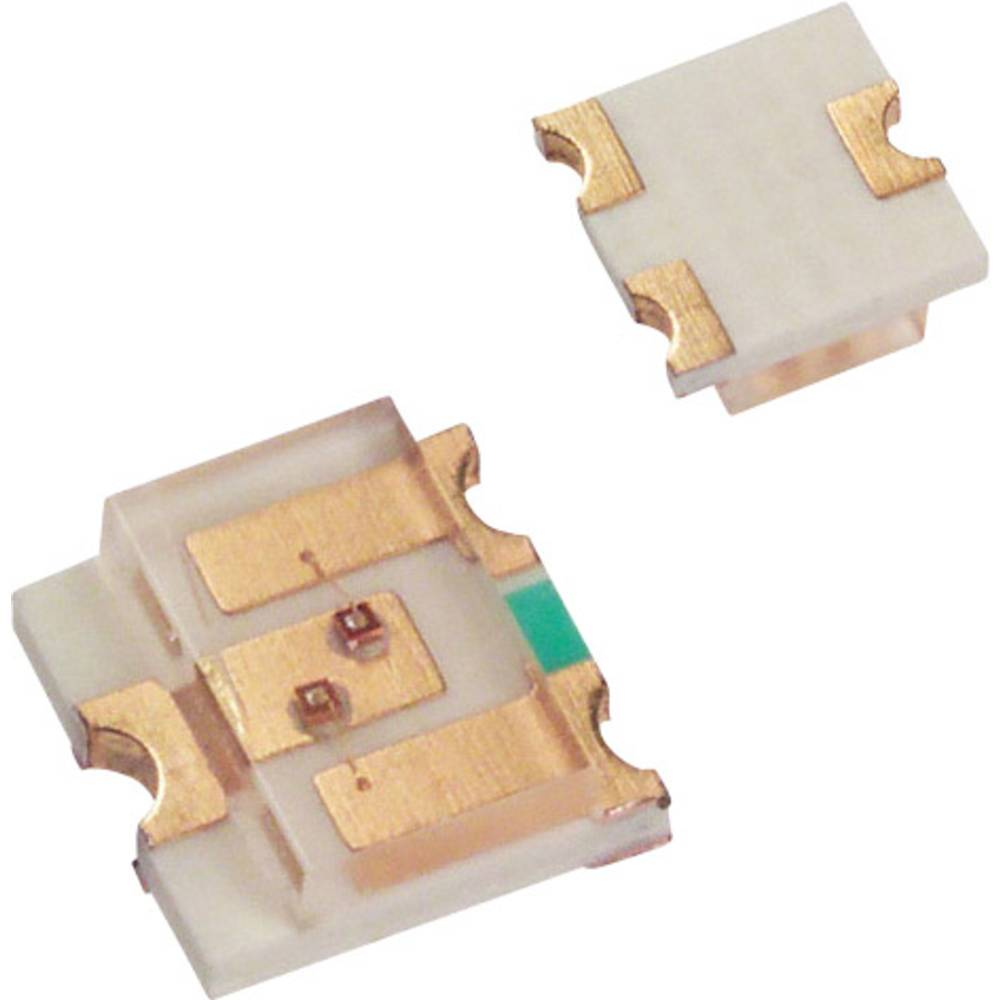 SMD-LED (value.1317393) LUMEX SML-LX15IC-TR SOT-23-3 10 mcd 140 ° Rød