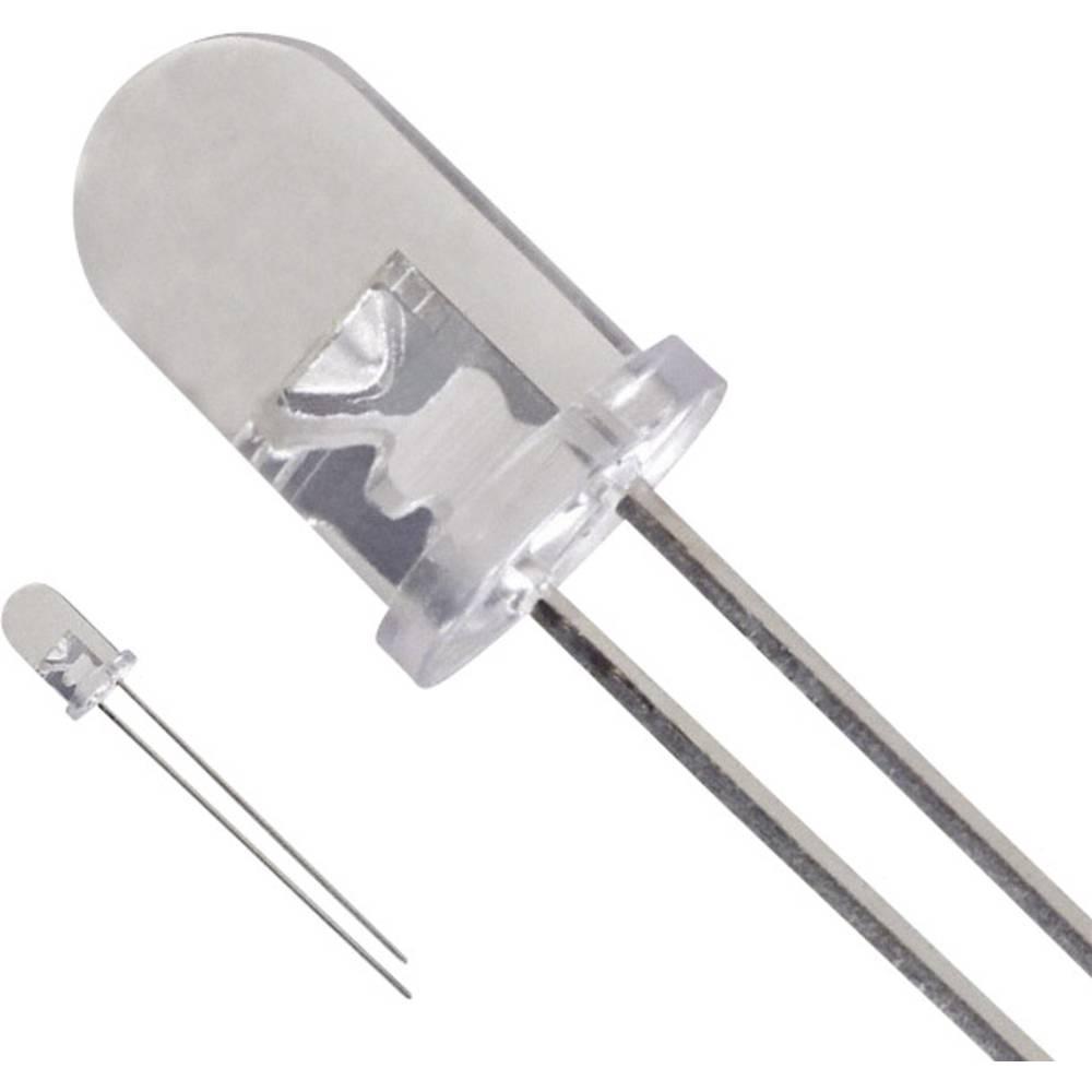 LED bedrahtet (value.1317403) LUMEX 5 mm 3.5 cd 40 ° 25 mA 3.4 V Hvid
