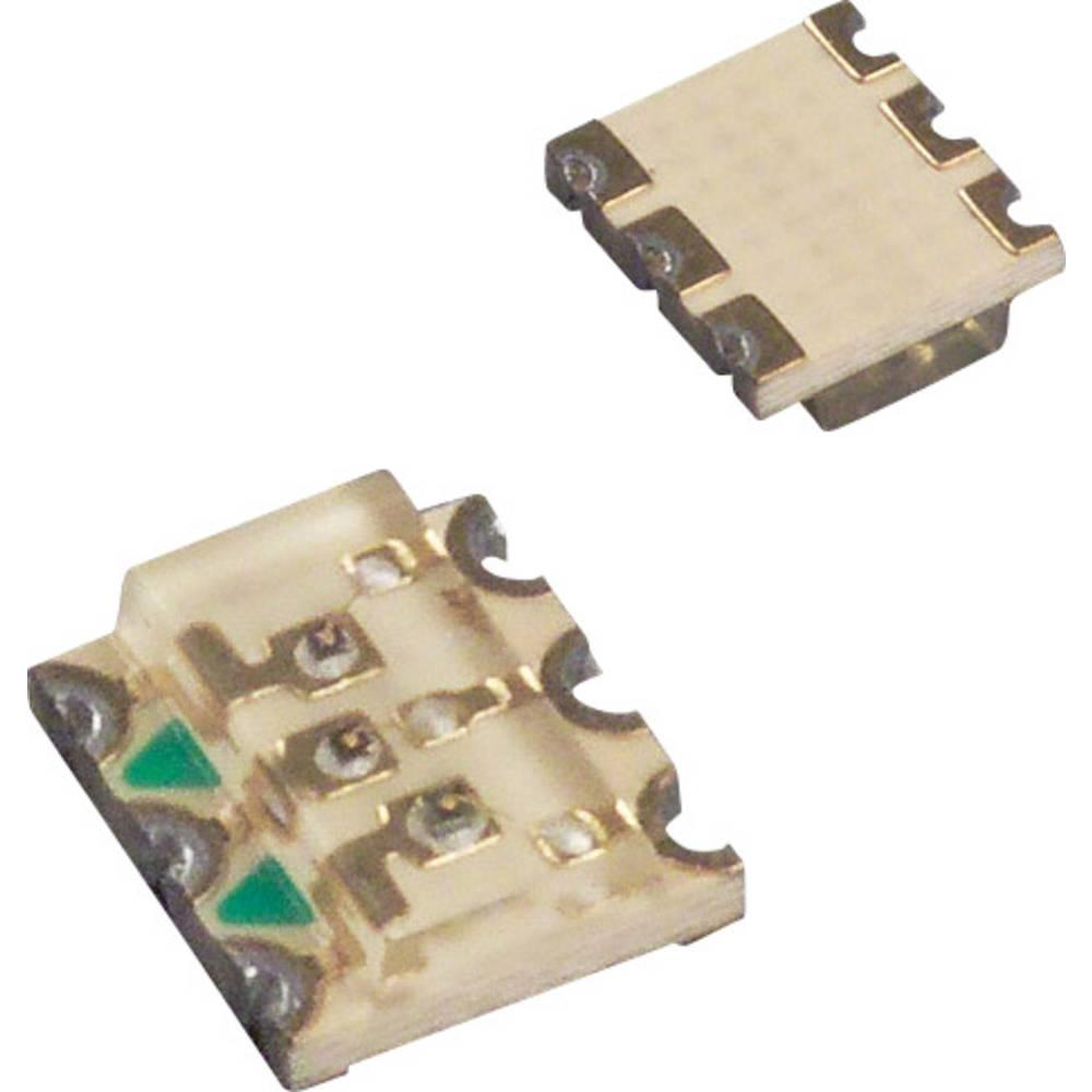 SMD LED LUMEX SML-LX3632SISUGSBC 3632 75 mcd, 60 mcd, 50 mcd 120 ° Rød, Grøn, Blå