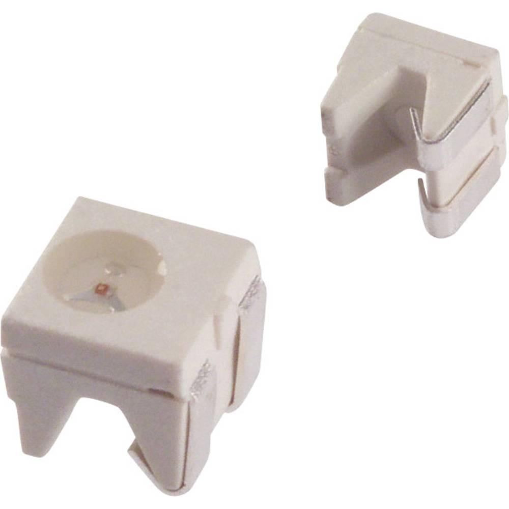SMD-LED (value.1317393) LUMEX SML-LXR44SRC-TR SMD-2 80 mcd 90 ° Rød