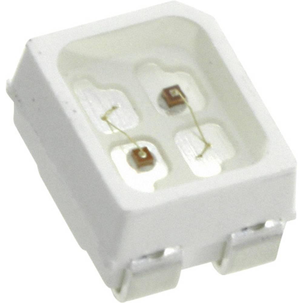 SMD-LED (value.1317393) LUMEX SML-LX2835SISUGSBC 2835 80 mcd 120 ° Rød, Grøn, Blå