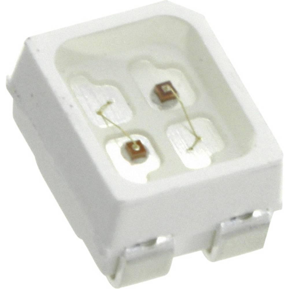 SMD LED LUMEX SML-LX2835IGC-TR 2835 25 mcd 120 ° Grøn, Rød