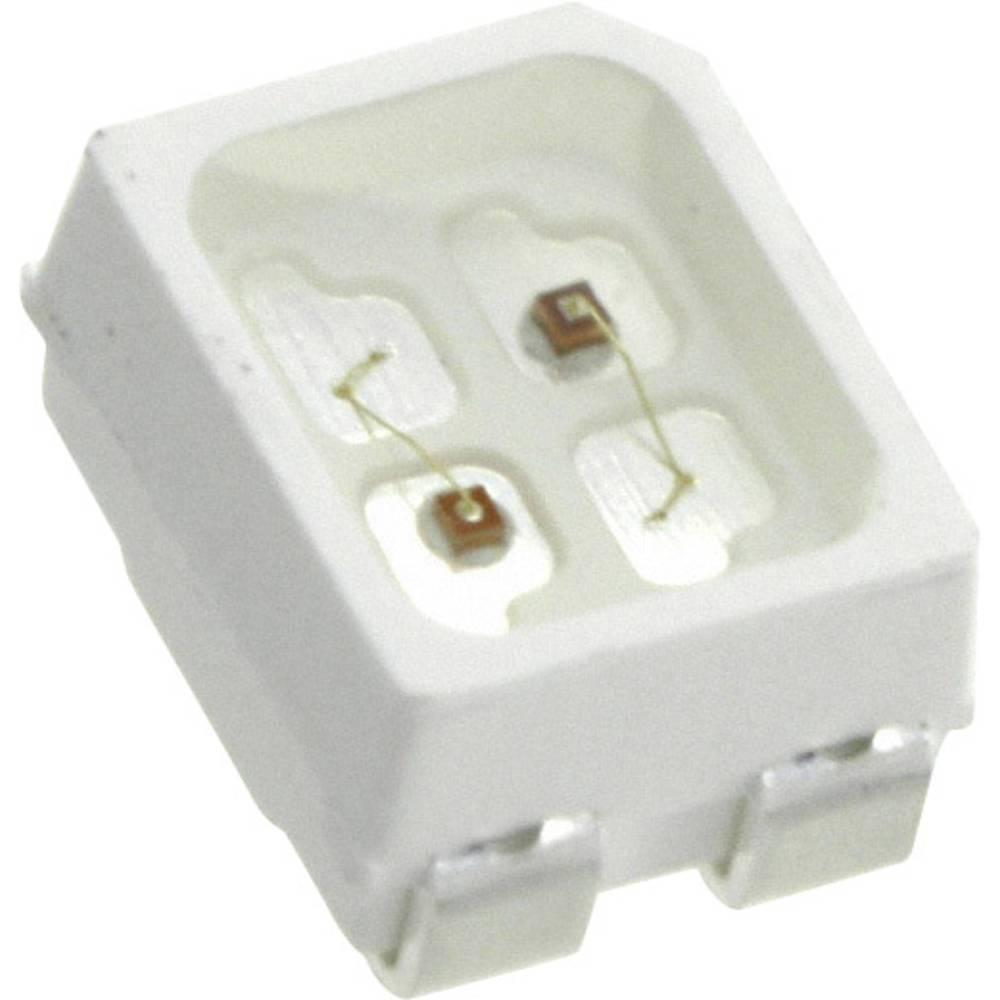 SMD-LED (value.1317393) LUMEX SML-LX2835YGC-TR 2835 25 mcd, 15 mcd 120 ° Grøn, Gul