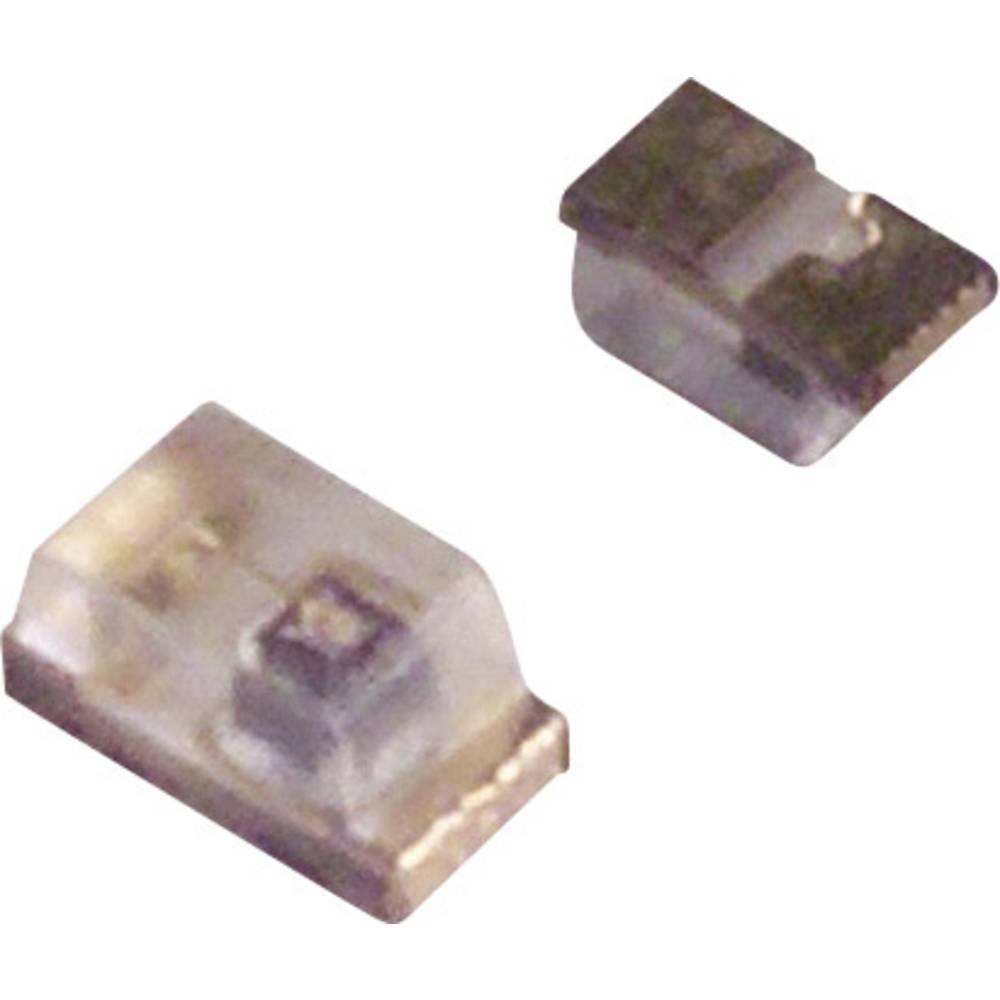 SMD-LED (value.1317393) LUMEX SML-LX0402UPGC-TR 1005 110 mcd 120 ° Grøn