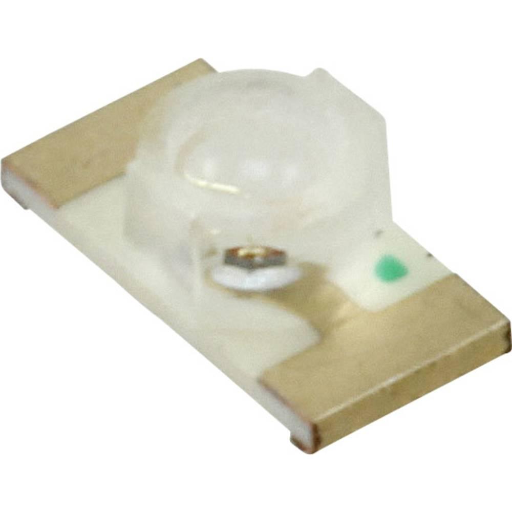 SMD-LED (value.1317393) LUMEX SML-LXLC1206SUGCTR 3216 100 mcd 70 ° Grøn