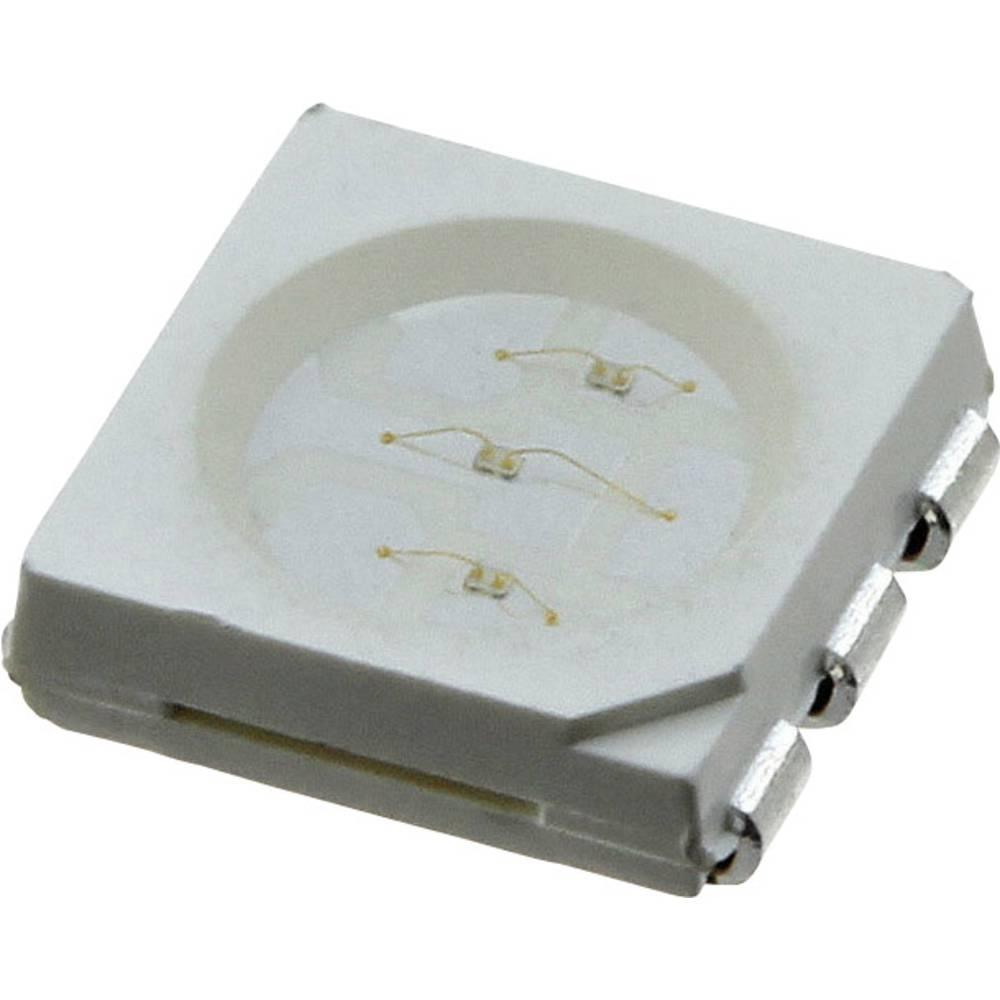 SMD LED LUMEX SML-LX5050SOC-TR PLCC6 1650 mcd 120 ° Orange
