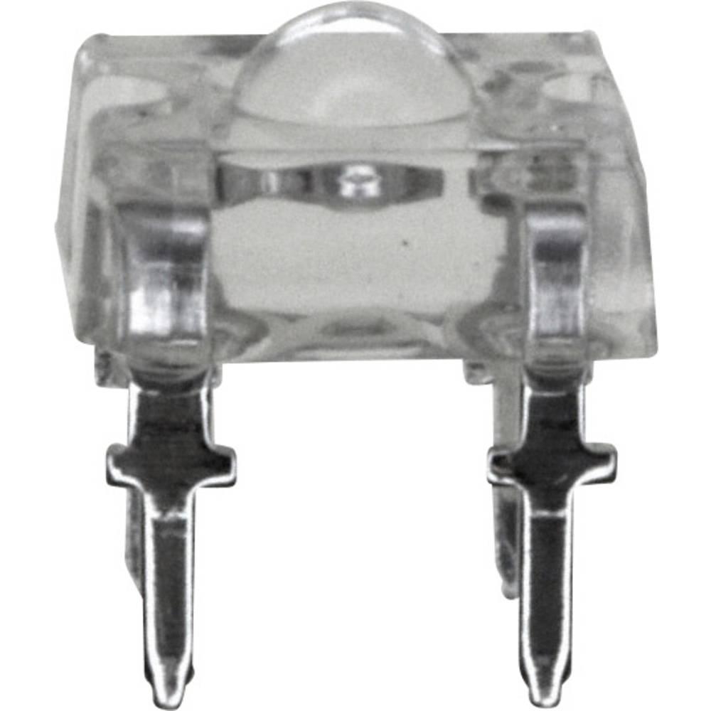 LED med ledninger Vishay 3.2 mm 90 ° 70 mA 2.2 V Rød