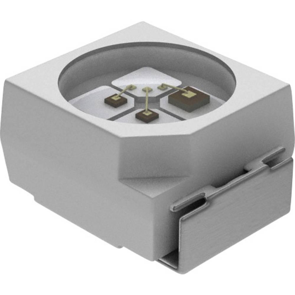 SMD LED Vishay VLMD3100-GS08 PLCC2 11.2 mcd 120 ° Rød