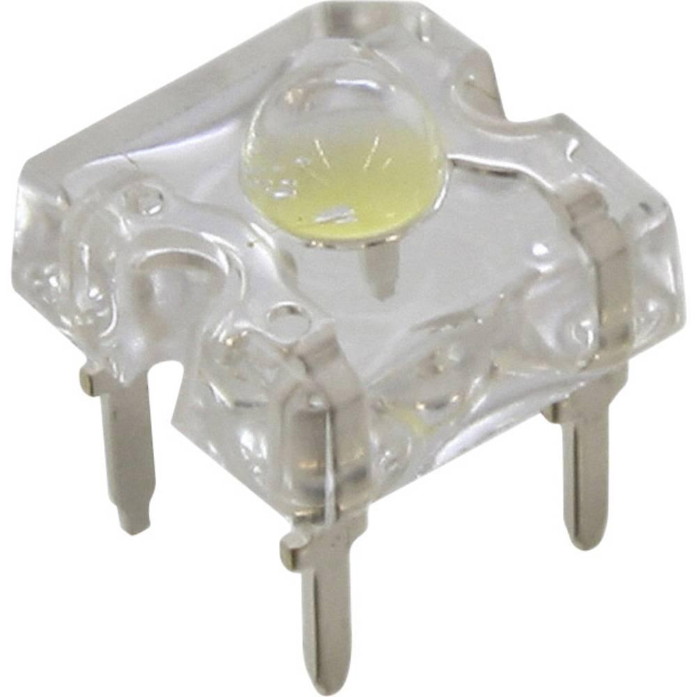 LED med ledninger CREE 3 mm 5.2 cd 60 ° 35 mA 3.6 V Kølig hvid
