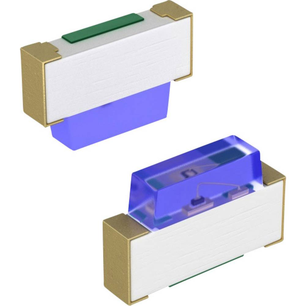 SMD-LED (value.1317393) Panasonic SMD-2 10 mcd Blå