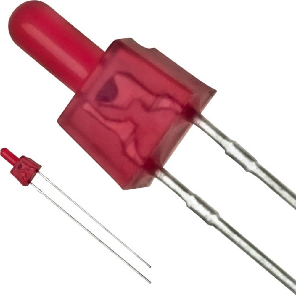 LED bedrahtet (value.1317403) Panasonic 2 mm 1 mcd 25 mA 2.2 V Rød