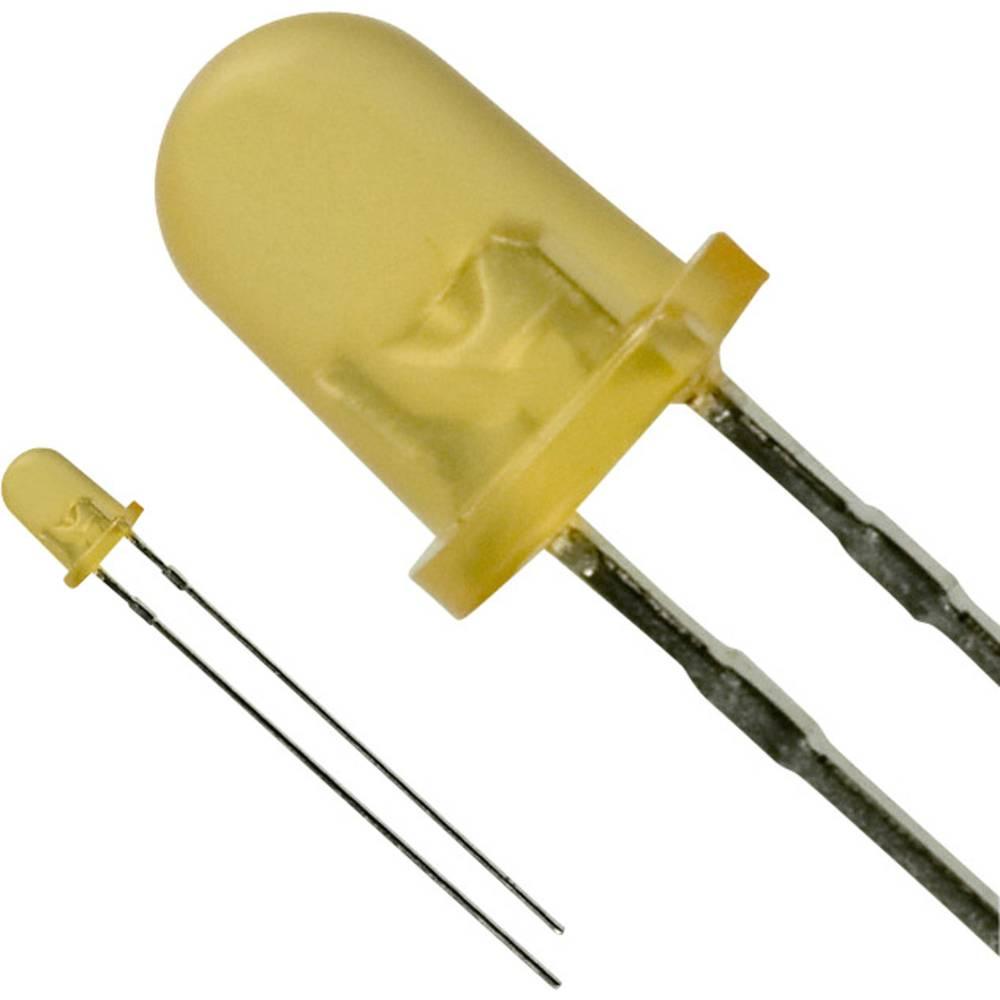 LED med ledninger Panasonic 4 mm 10 mcd 30 mA 2.2 V Rav