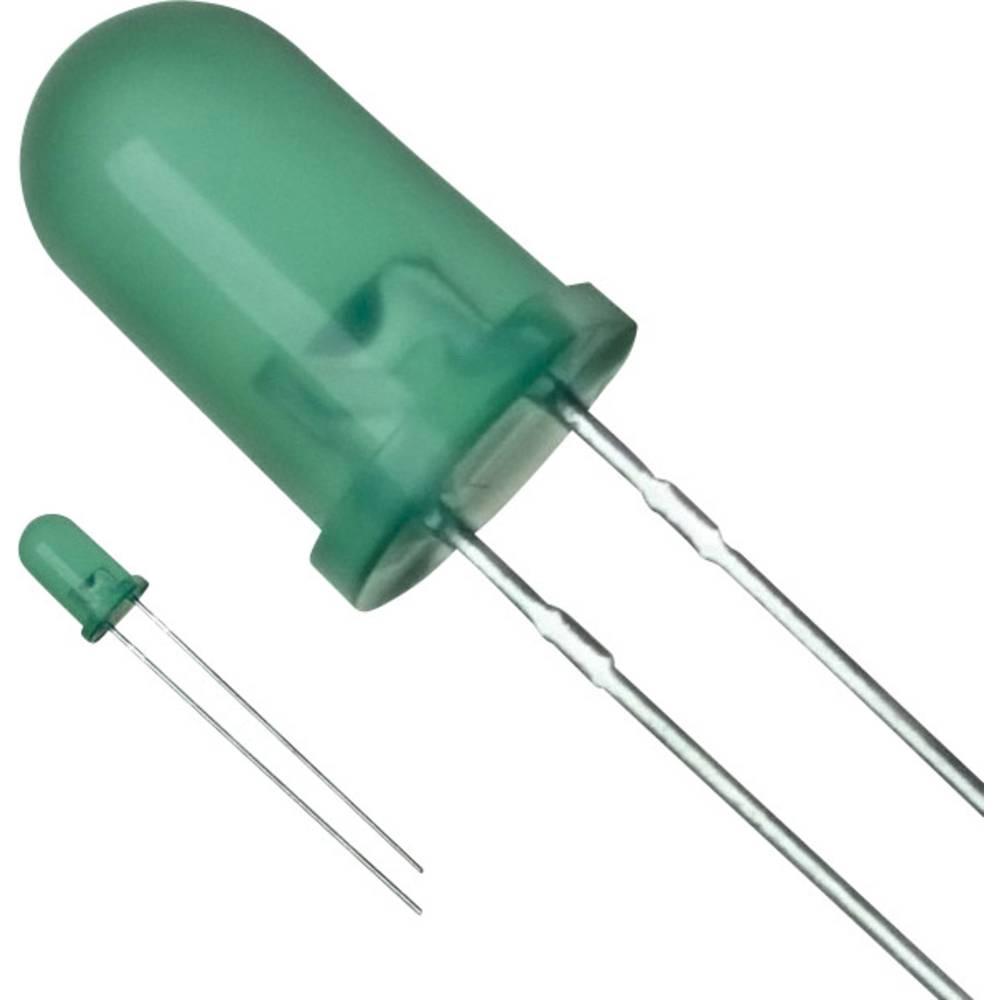 LED med ledninger Panasonic 5 mm 15 mcd 30 mA 2.2 V Grøn