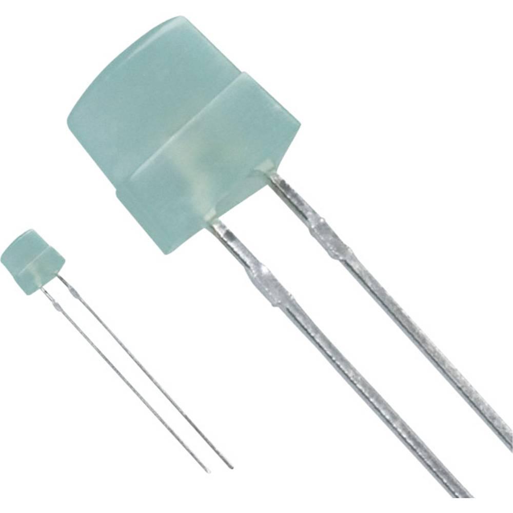 LED med ledninger Panasonic 5 x 5 mm 5 mcd 30 mA 2.2 V Grøn