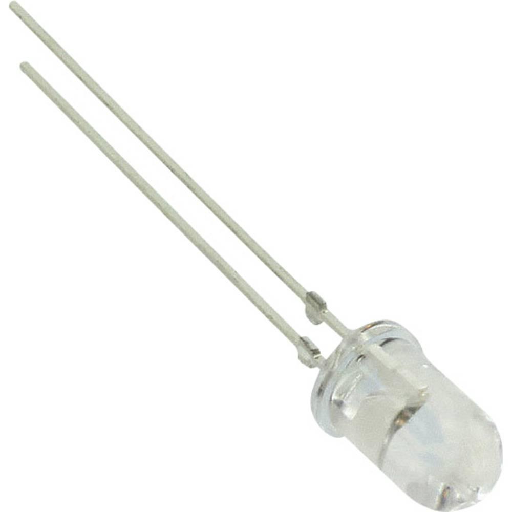 LED bedrahtet (value.1317403) Vishay 5 mm 245 mcd 18 ° 20 mA 3.9 V Blå