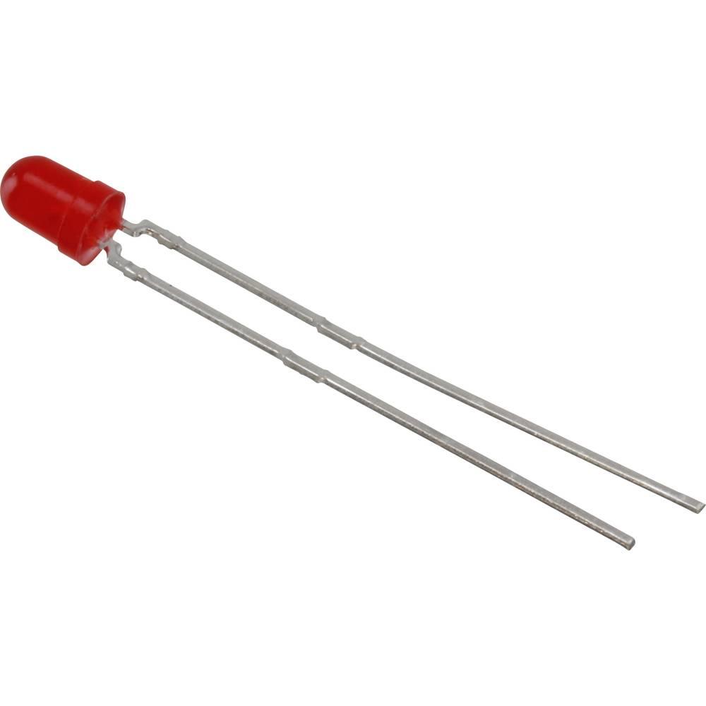 LED bedrahtet (value.1317403) Vishay 3 mm 15 mcd 120 ° 30 mA 1.9 V Rød