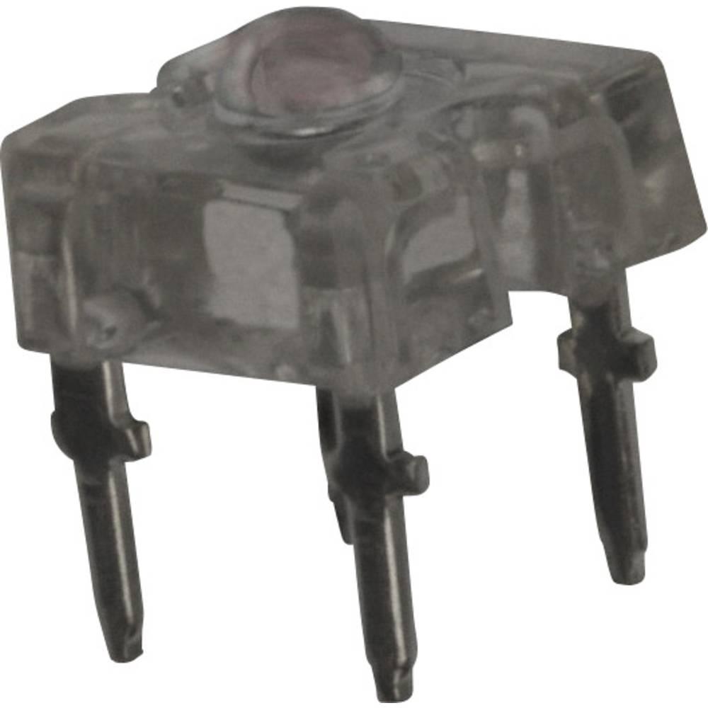 LED med ledninger Vishay 3.2 mm 60 ° 70 mA 2.2 V Rød