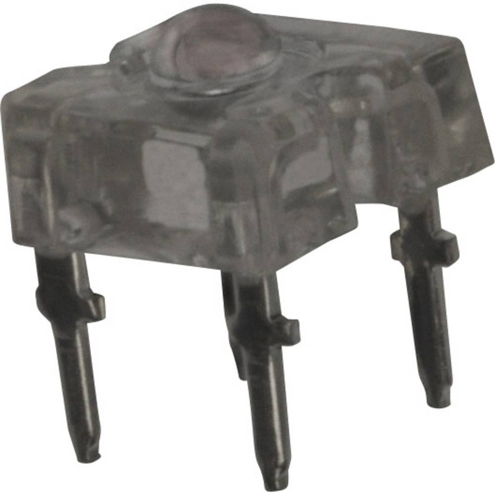 LED bedrahtet (value.1317403) Vishay 2.44 mm 60 ° 70 mA 2.2 V Rød