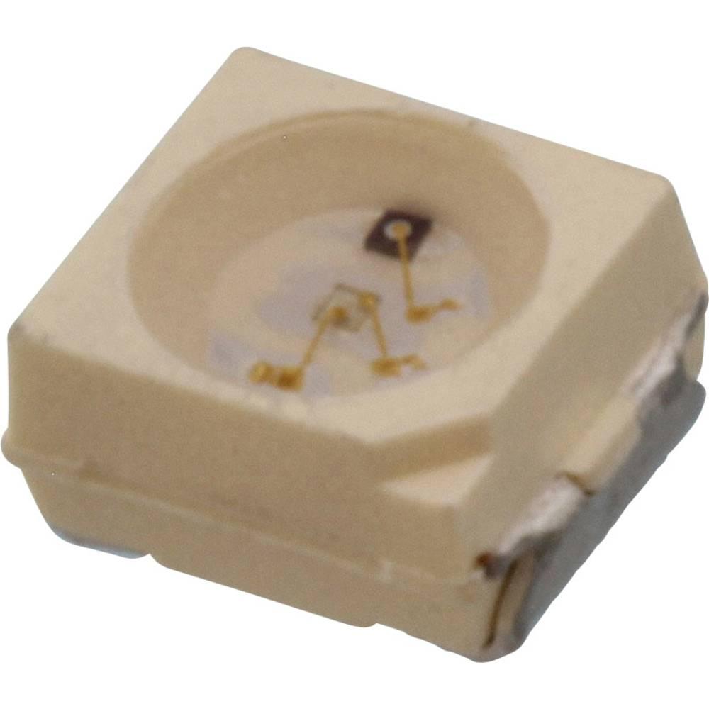 SMD-LED (value.1317393) Vishay PLCC2 79 mcd 120 ° Blå