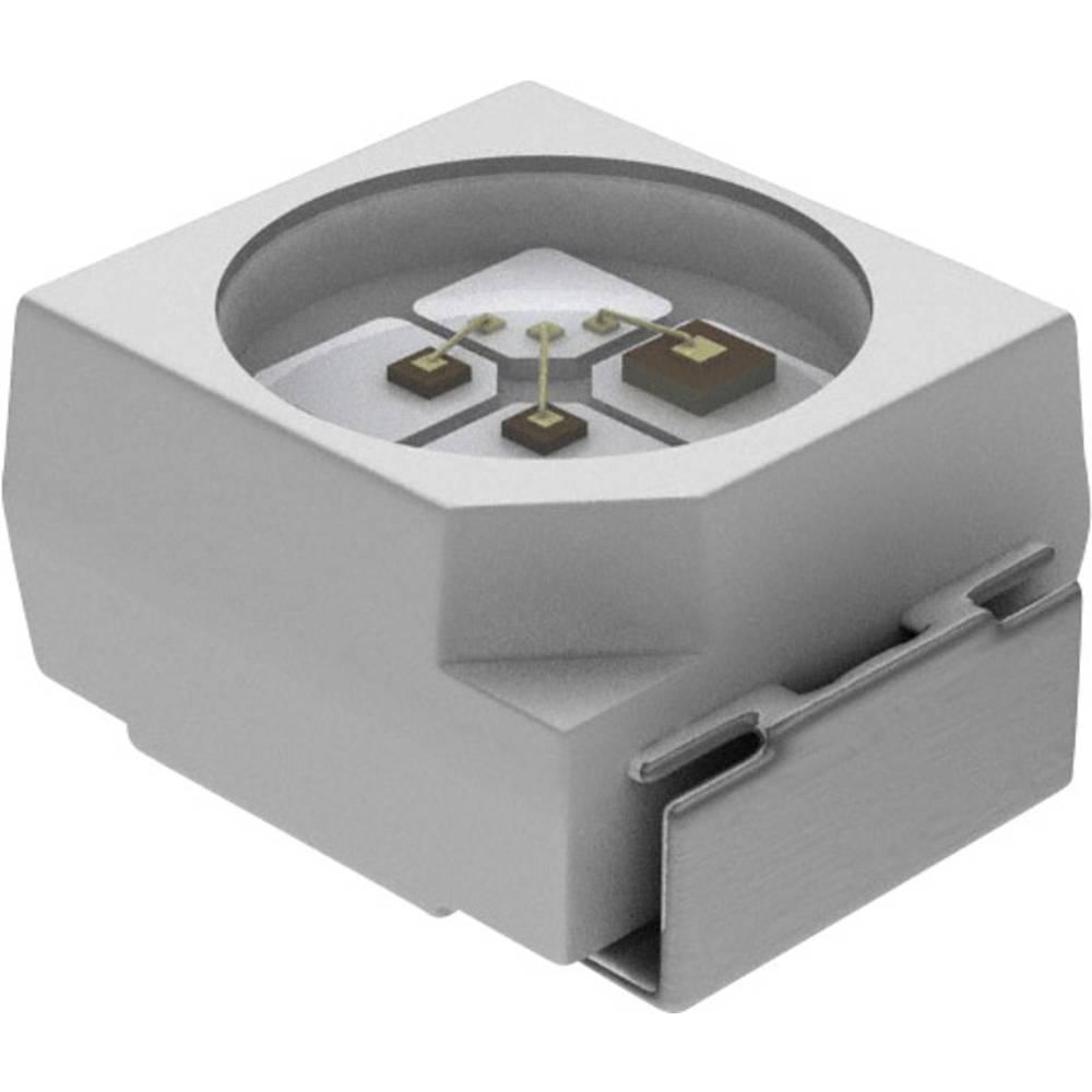 SMD-LED (value.1317393) Vishay PLCC2 18 mcd 120 ° Orange