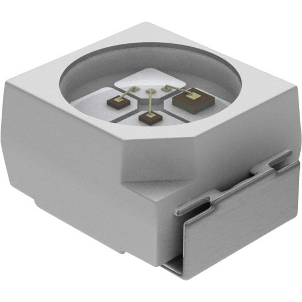 SMD-LED (value.1317393) Vishay VLMS30J1L2-GS08 PLCC2 11 mcd 120 ° Rød