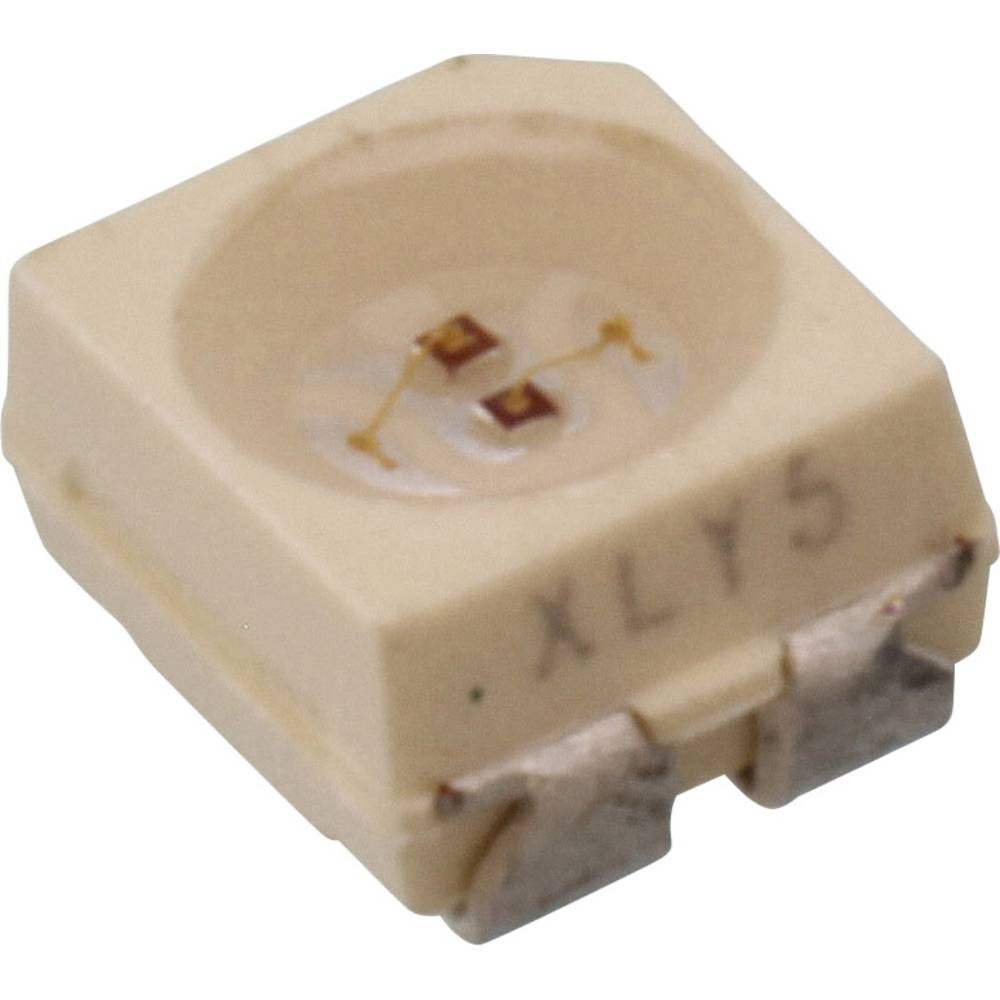 SMD-LED (value.1317393) Vishay VLMV3100-GS08 PLCC3 8 mcd, 10 mcd 120 ° Grøn, Rød