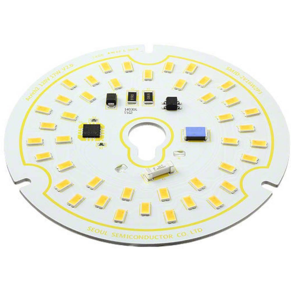 HighPower-LED-Modul (value.1317384) Seoul Semiconductor Varm hvid 17 W 1300 lm 120 ° 120 V/AC
