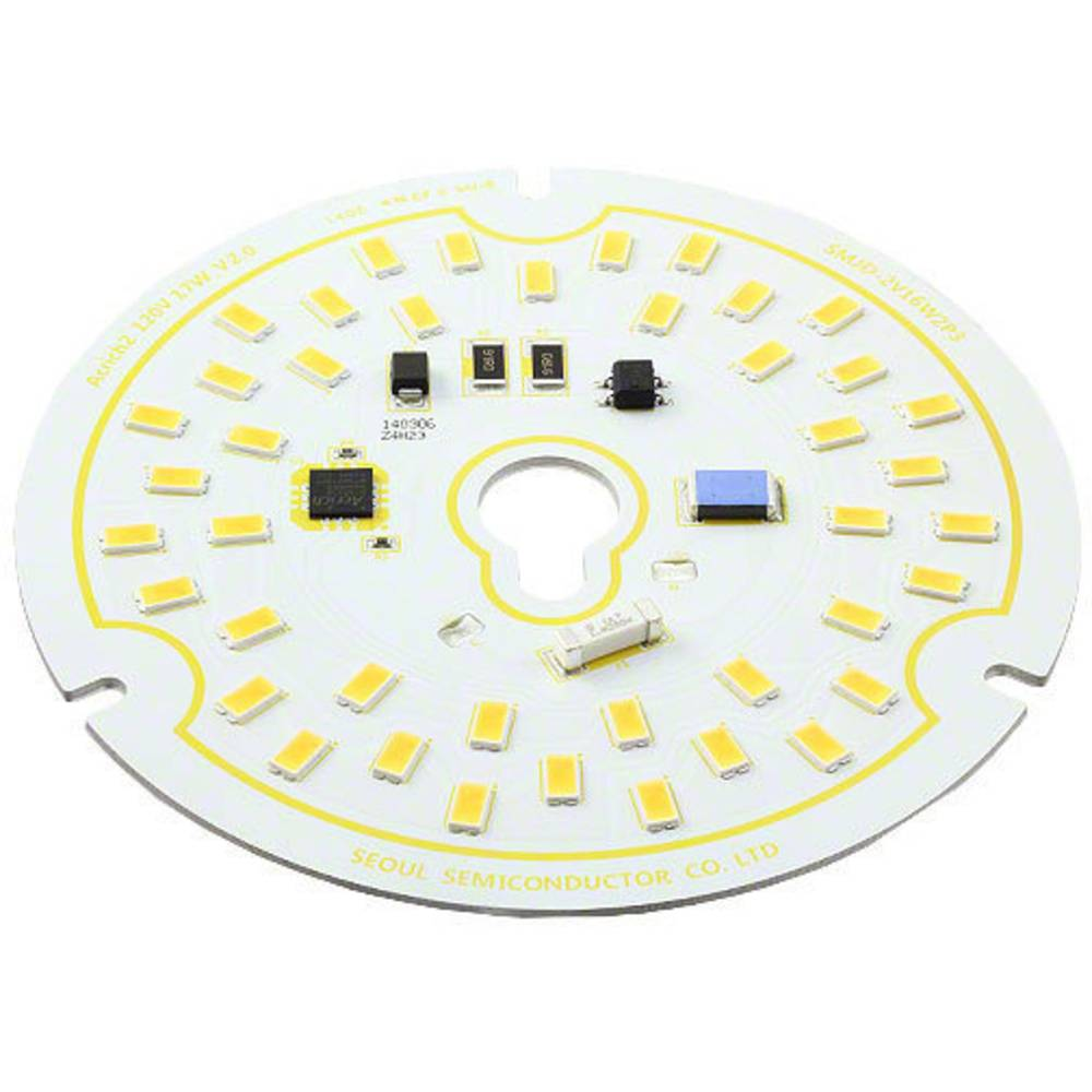 HighPower LED modul, topla bijela 17 W 1300 lm 120 ° 120 V/AC Seoul Semiconductor SMJD-2V16W2P3-HA