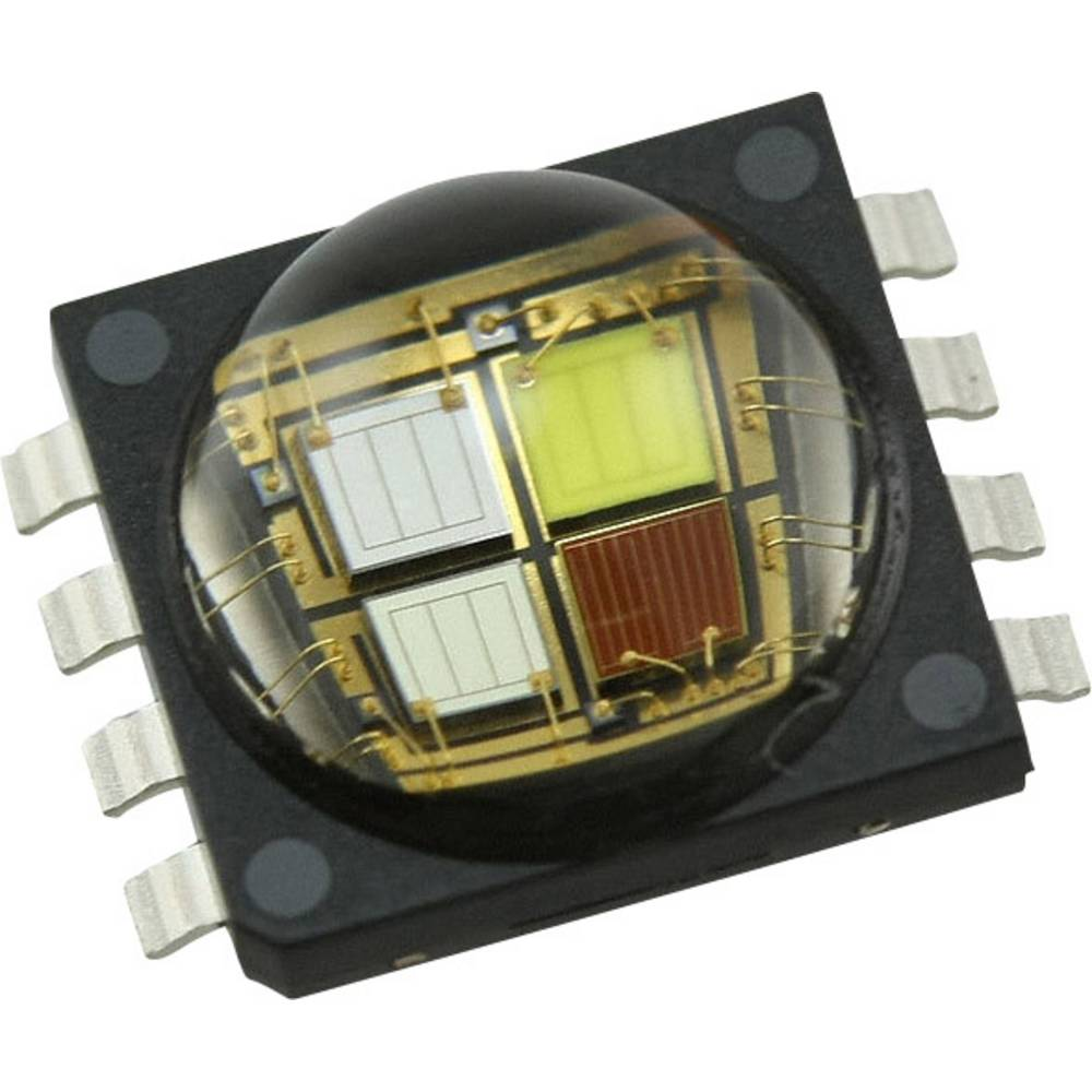 HighPower LED rdeča, zelena, modra, hladno bela 9.5 W 31 lm, 67 lm, 8 lm, 80 lm 115 ° 2.1 V, 3.4 V, 3.2 V 700 mA CREE MCE4CT-A2-