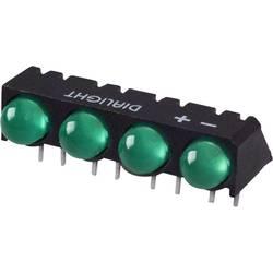 LED-Reihe (value.1317426) Dialight (L x B x H) 25 x 12.41 x 9.6 mm Grøn