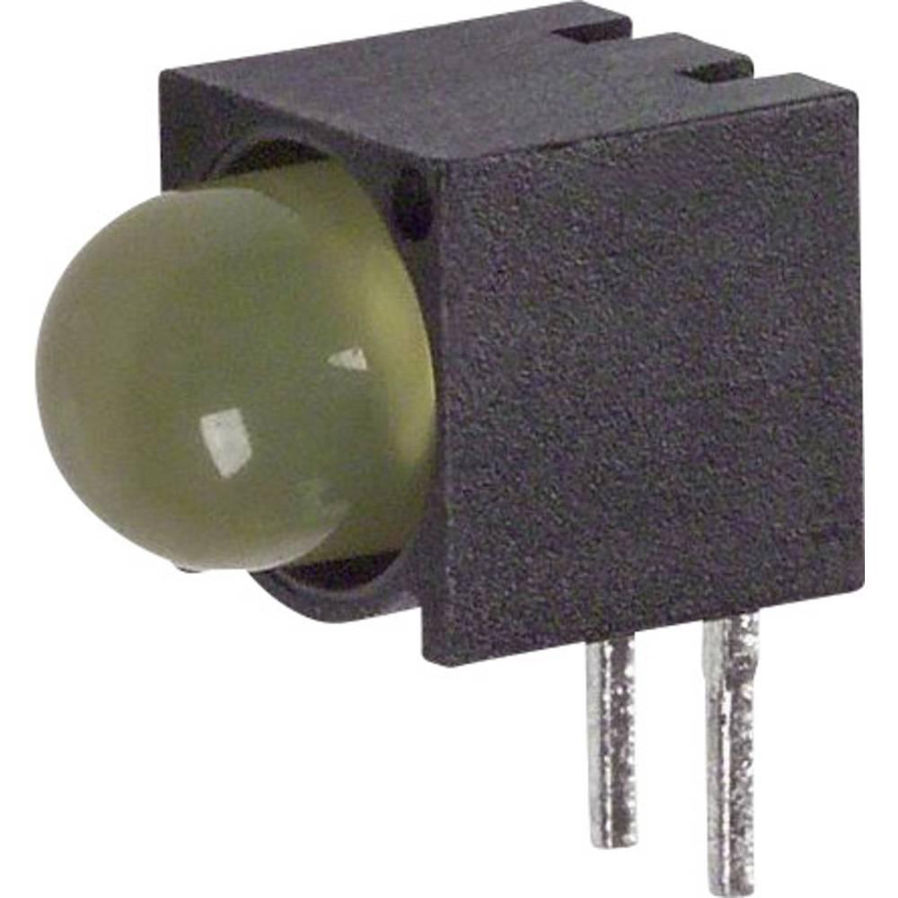 LED-komponent Dialight (L x B x H) 9.78 x 9.27 x 6.1 mm Gul