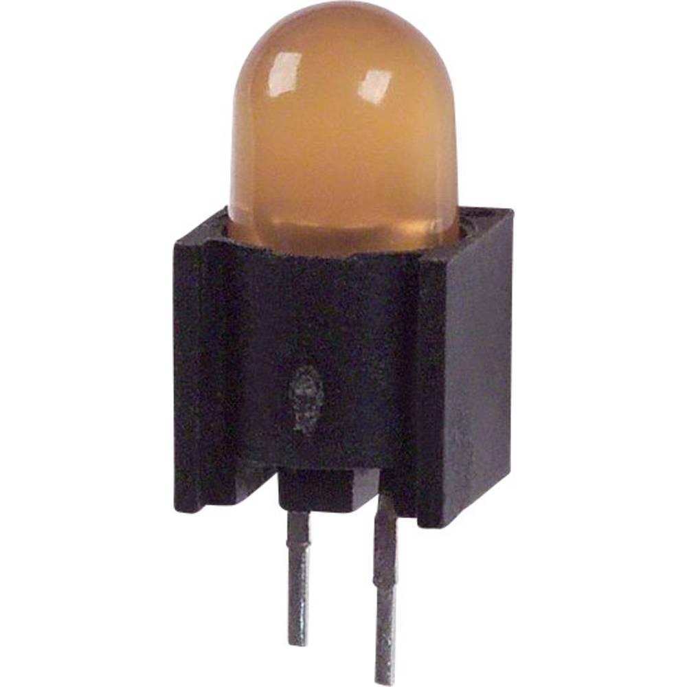 LED-komponent Dialight (L x B x H) 14.52 x 6.1 x 6.1 mm Gul