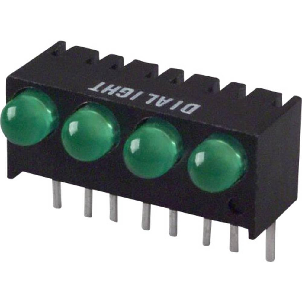 LED-Reihe (value.1317426) Dialight (L x B x H) 17.27 x 10.78 x 8.89 mm Grøn