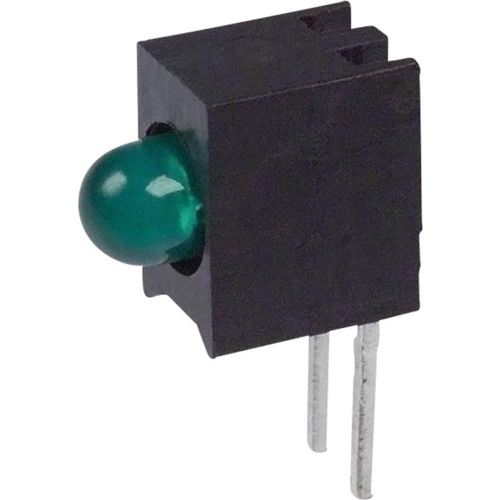 LED-komponent Dialight (L x B x H) 10.03 x 7.87 x 4.06 mm Grøn