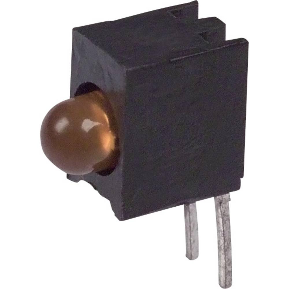 LED-komponent Dialight (L x B x H) 10.03 x 7.87 x 4.06 mm Orange