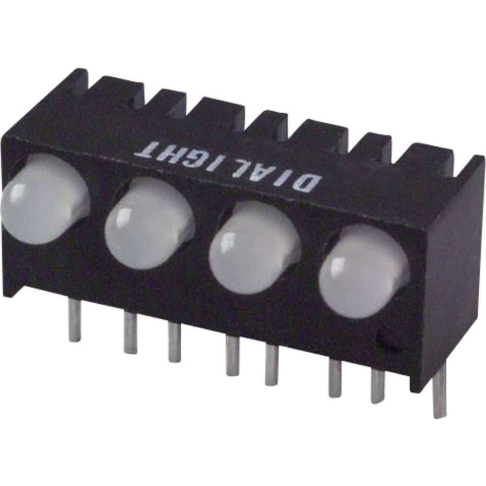 LED-Reihe (value.1317426) Dialight (L x B x H) 17.27 x 10.78 x 8.89 mm Grøn, Rød