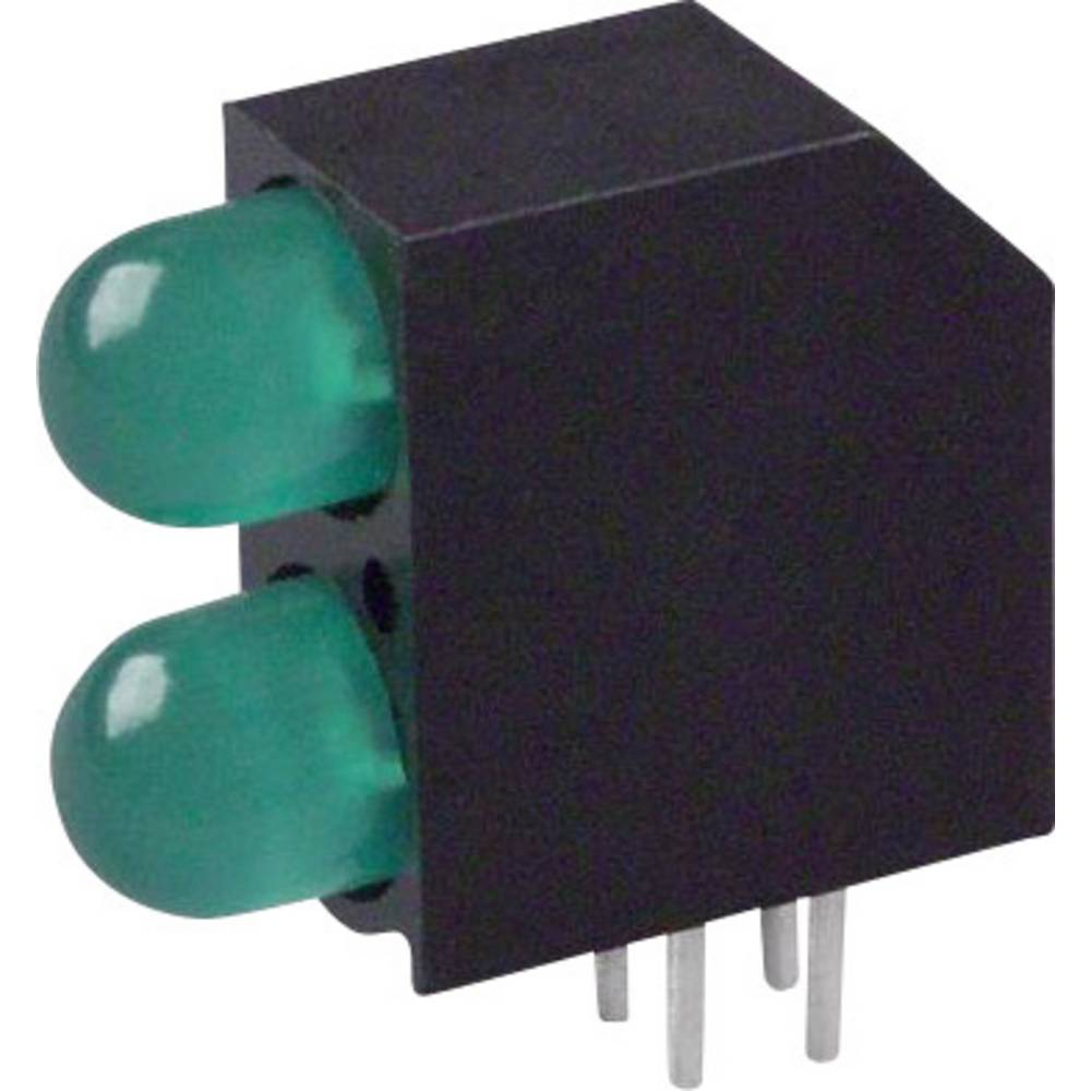 LED-Baustein (value.1317427) Dialight (L x B x H) 16.2 x 14.54 x 6 mm Grøn