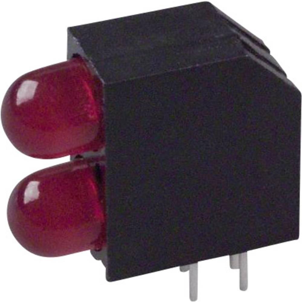 LED-komponent Dialight (L x B x H) 16.2 x 14.54 x 6 mm Rød