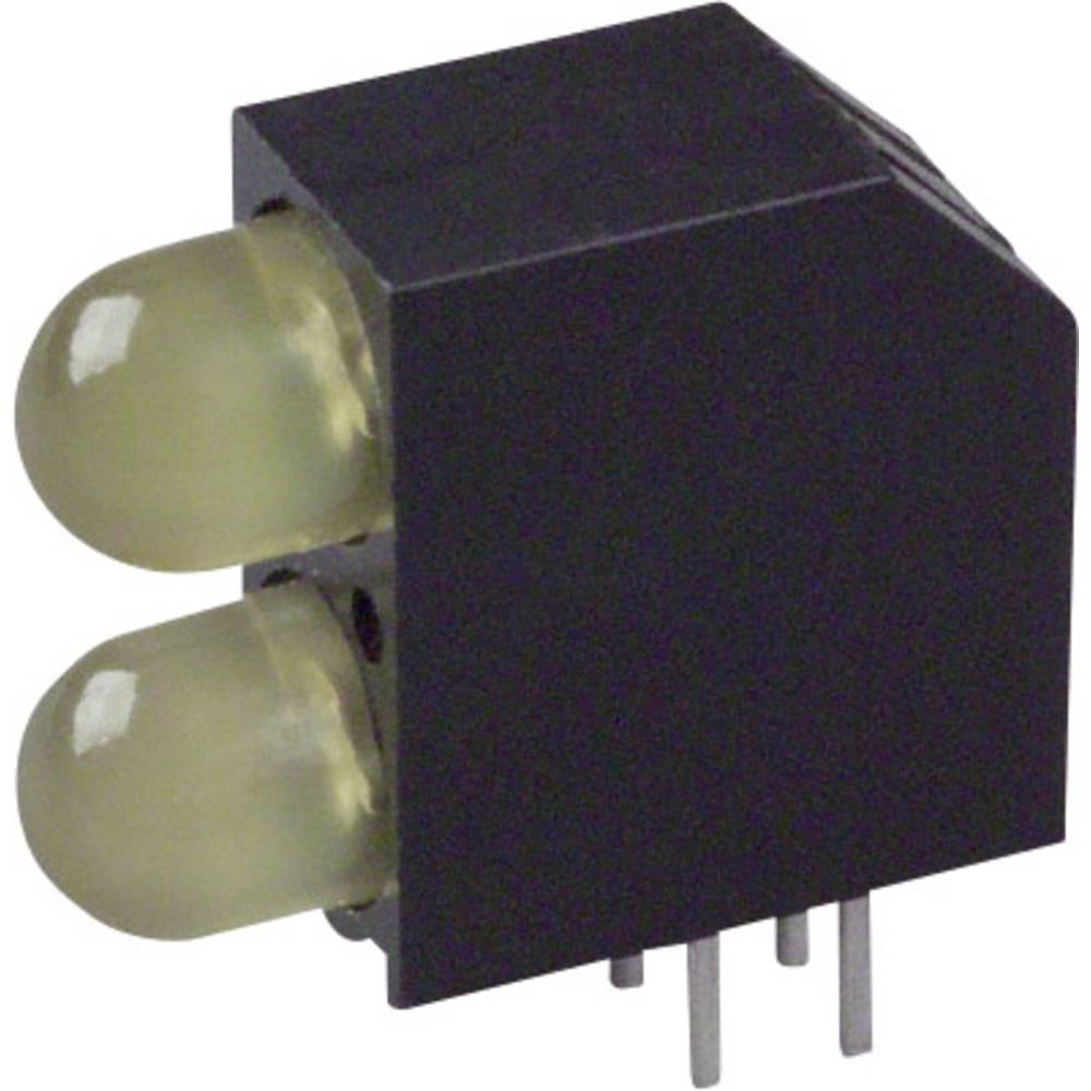 LED-Baustein (value.1317427) Dialight (L x B x H) 16.2 x 14.54 x 6 mm Gul