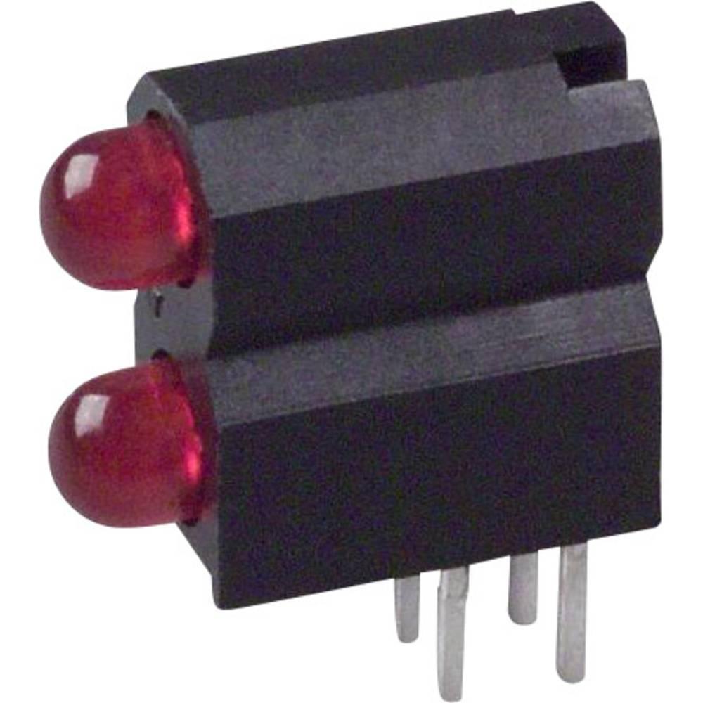 LED-komponent Dialight (L x B x H) 13.33 x 11.3 x 5.08 mm Rød