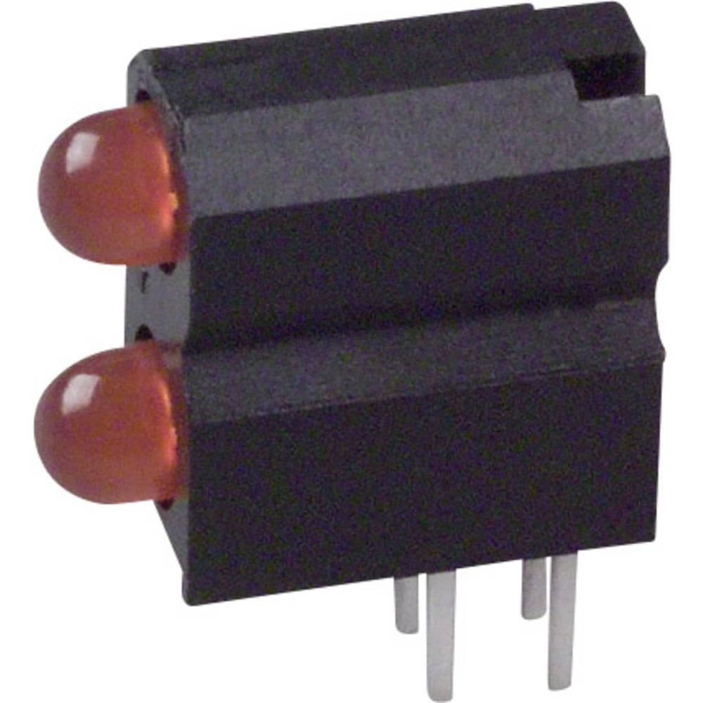 LED-Baustein (value.1317427) Dialight (L x B x H) 13.33 x 11.66 x 5.08 mm Orange