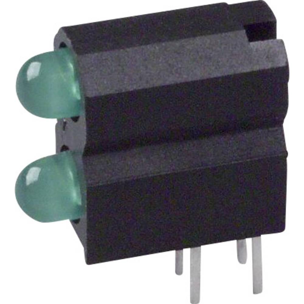 LED-komponent Dialight (L x B x H) 13.33 x 11.66 x 5.08 mm Grøn