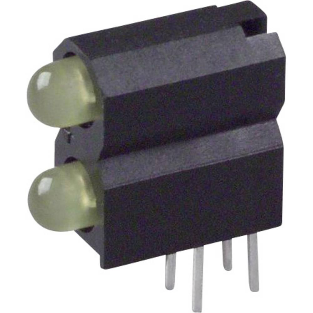 LED-Baustein (value.1317427) Dialight (L x B x H) 13.33 x 11.66 x 5.08 mm Gul