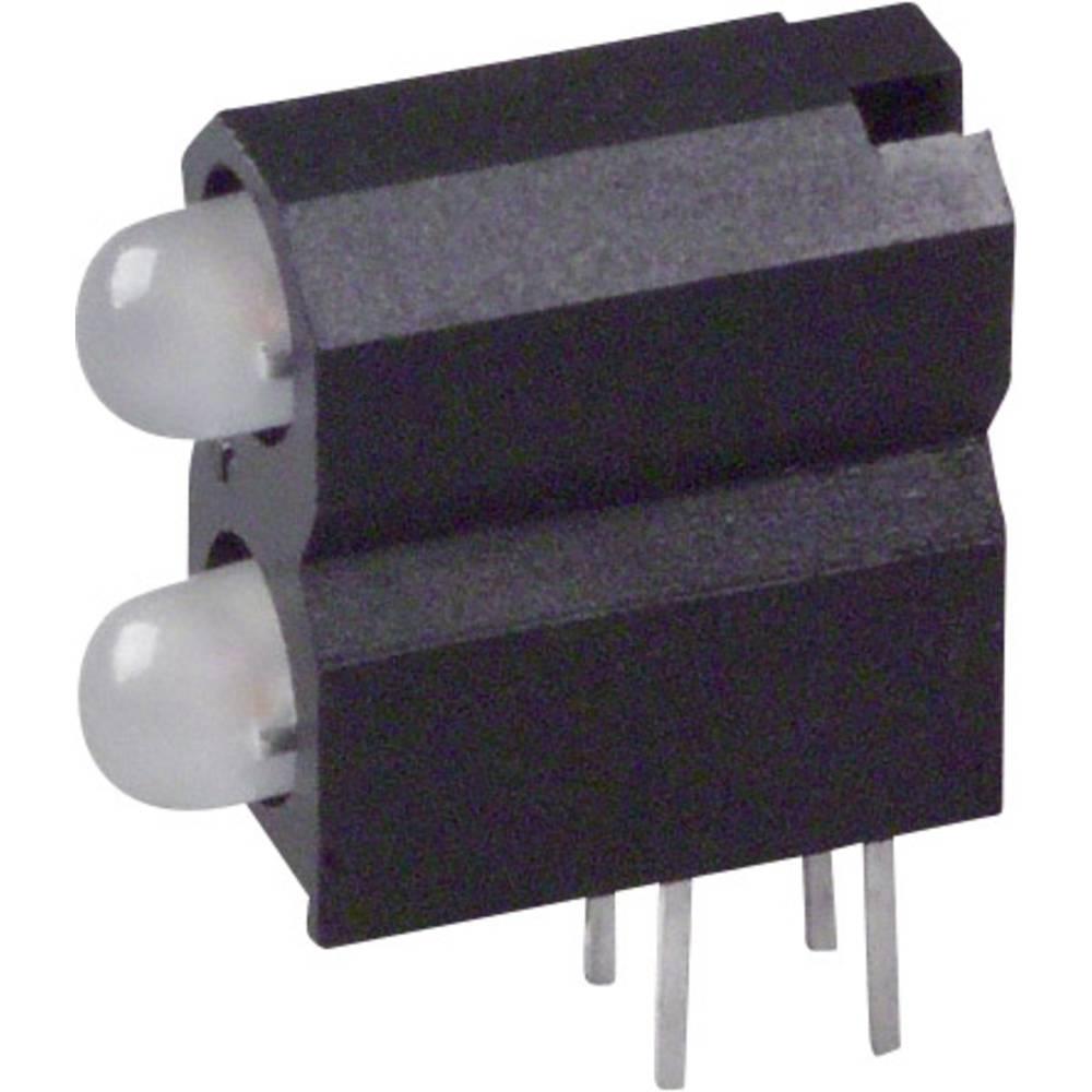 LED-Baustein (value.1317427) Dialight (L x B x H) 13.33 x 11.66 x 5.08 mm Grøn, Gul